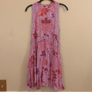 NWT Free People Lace Floral Tunic
